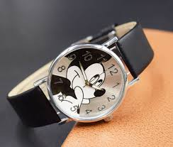 2018 <b>Cute cartoon</b> quartz wristwatch <b>children</b> leather Ladies watch ...