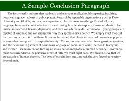 persuasive speech essay examples examples of conclusion paragraphs for persuasive essays