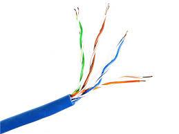 <b>Сетевой кабель Telecom CU</b> UTP cat 5e 305m Blue UTP4 ...