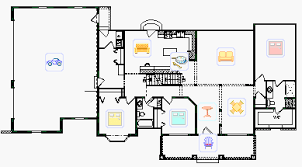 Elegant Traditional Style Ranch House Plan   NantucketNantucket floor plans