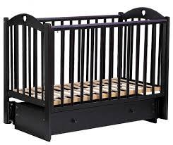 <b>Кроватка Малика Laura</b>-<b>3</b> (с ящиком) (классическая ...