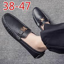 loafers lelaki <b>Plus</b> size Loafers <b>shoes men</b> Slip on <b>shoes men</b> black ...