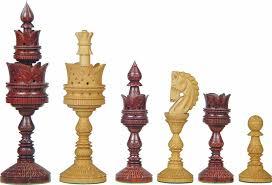 lotus design artistic giant chess pieces artistic wood pieces design