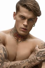 Tattoos on Display-Designer Theodore Leventakis joins creative forces with photographer Antonis Delta to style British model Stephen James in a story for ... - stephen-james-0001