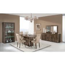 modern wood dining room sets: modrest athen italian modern dining set
