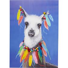 <b>Картина Lama Pom</b> Pom, коллекция Лама Пом Пом, ручная ...