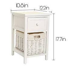 Quieting Shabby <b>Chic Bedside Table</b> Stora- Buy Online in Guernsey ...