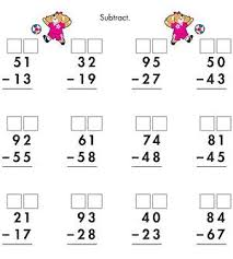 Measurement worksheets, Worksheets and Math on PinterestPrintable Math and Measurements Worksheets: Two-Digit Subtraction With Regrouping (via Parents.