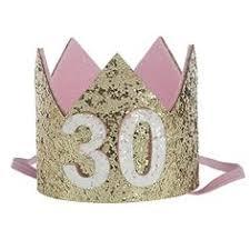 Floral Fall 20th 21st 30th <b>Birthday Crown</b> Golden Adult <b>Thirty Flirty</b> ...
