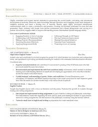 beginner teacher resume examples cipanewsletter sample pilot resumeobjective for a teaching resume examples