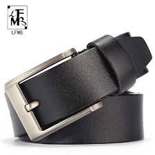[<b>LFMB</b>]<b>men belt leather male</b> genuine <b>leather</b> strap trousers <b>male</b> ...