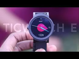 Умные часы <b>TicWatch E</b> - YouTube