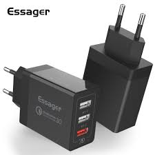 Essager 30W Quick Charge 3.0 <b>USB</b> Charger QC3.0 Fast Charging ...