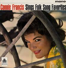 Connie Francis, Sings Folk Song Favorites, UK, Deleted, viny