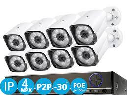 Готовый Комплект Видеонаблюдения <b>IP</b> 4MPX для улицы и дачи ...