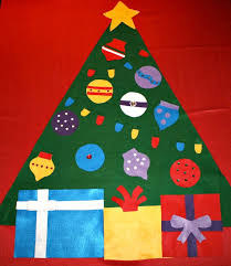<b>Felt Christmas Tree</b> Ideas and Inspiration for Your Own