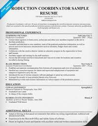 Resume Samples   TV Producer   Blue Sky Resumes Blog