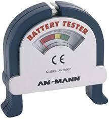 Ansmann 4000001 Battery Tester: Electronics - Amazon.com