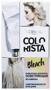 L'Oreal Paris Colorista Bleach <b>крем</b>-<b>краска для волос</b> — купить по ...