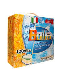 <b>Таблетки для</b> посудомоечной машины BOLLA 120шт 7в1 BOLLA ...