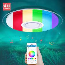<b>Modern LED</b> ceiling Lights RGB Dimmable 25W 36W 52W APP ...
