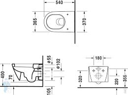 <b>Унитаз подвесной DURAVIT</b> STARCK 2 370х540х330 ...