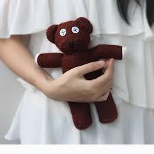 <b>24CM</b> Mr Bean <b>Teddy Bear</b> Animal Stuffed <b>Plush Toy</b> Brown Figure ...