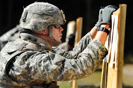 u s department of defense photo essay u s army 1st lt joshua herrington studies shot groups to determine what adjustments he needs