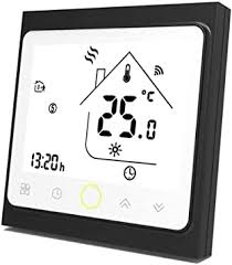 <b>WiFi</b> Programmable Gas Boiler Thermostat LCD Display ...