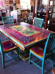 gorgeous hand painted table and chairs now i cant decide how to do bedroomalluring members mark leather executive chair