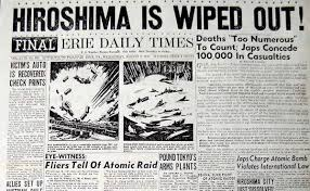 「1945, atomic bomb in hiroshima」の画像検索結果
