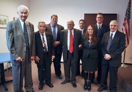 news community kahan kerensky capossela llp attorney matthew willis treasurer of the tolland county bar association tcba judge trial referee samuel teller attorney joel defelice president of