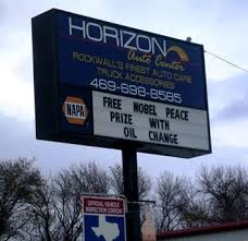 obama peace prize oil change sign » Got Smile? - Funny Pictures ...