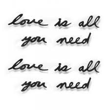 <b>Надпись декоративная Love</b> is all you need от Umbra купить