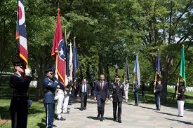 u s department of defense photo essay president barack obama arrives at arlington national cemetery in arlington va to lay