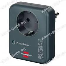 <b>Сетевой фильтр</b>-адаптер <b>Brennenstuhl</b> (1 розетка, черный ...