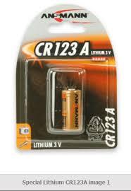 <b>ANSMANN</b> 5020012 Lithium <b>CR123A</b>