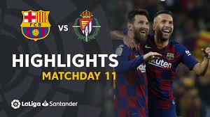 Highlights FC Barcelona vs Real Valladolid (5-1) - YouTube