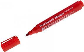 "<b>Маркер</b> перманентный <b>8004</b> ""<b>Office Space</b>"" красный, пулевидный ..."