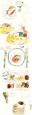 ideas about food drawing watercolor food juriko kosaka