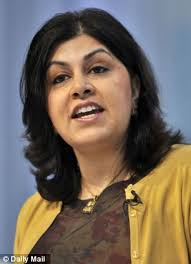 Baroness Warsi: Thank God - a Muslim with the courage to defend our Christian nation | Mail Online - article-0-0B60118A00000578-537_306x423