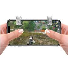 Rovtop <b>Metal Gamepad</b> PUBG <b>Mobile</b> Trigger Control Smartphone ...