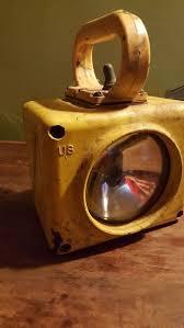 Vintage US Navy <b>Roflan</b> Yellow Portable Battle Emergency Spot   Etsy