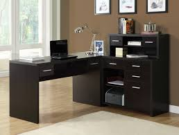 monarch specialties l shaped 48x24 home office desk in cappuccino buy office desk