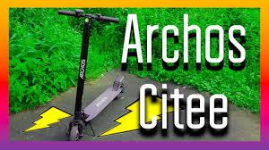 Обзор: <b>ЭЛЕКТРОСАМОКАТ ARCHOS</b> CITEE - YouTube