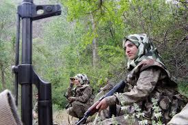 Elazığ'ın kadın güvenlik korucuları babalarının izinde
