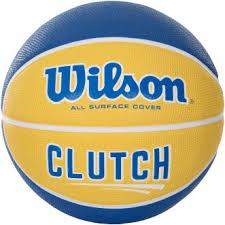 <b>Мяч баскетбольный Wilson Clutch</b> желтый/ярко-синий цвет ...