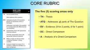 whap comparative essay part c suggested planning and writing 3 the five 5 scoring areas only th thesis atq addresses all parts of the question ev evidence 9 for 2 points 6 for 1 point dc direct comparison