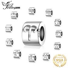 <b>JewelryPalace Zodiac 925</b> Sterling Silver Beads Charms Silver 925 ...