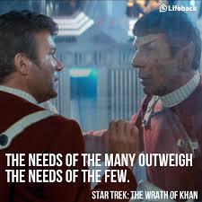 Original Star Trek Quotes. QuotesGram via Relatably.com